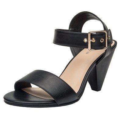 938607e22e3e0 US$ 45.99 - Aukusor Women's Wide Width Heel Pump - Ankle Buckle ...