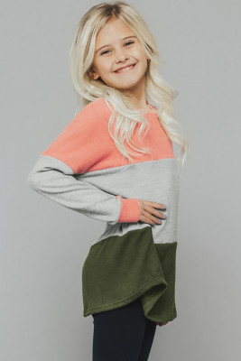 Orange The Callie Colorblock Sweater