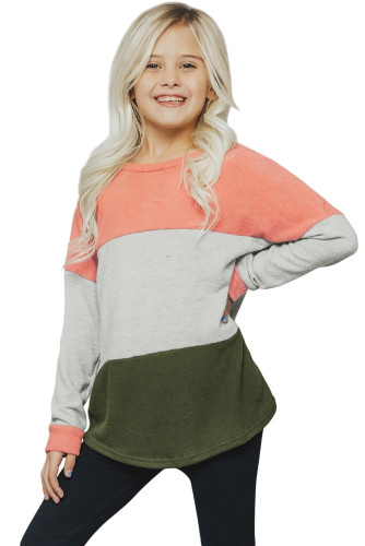 Orange The Callie Colorblock Sweater TZ25105