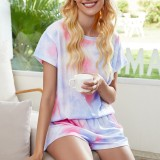Tie Dye Home Pajamas Set