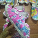 Pink Tie Dye Canvas Shoe