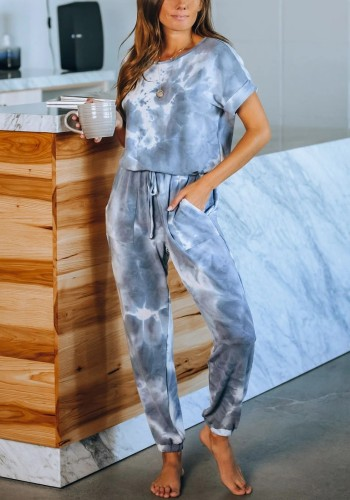 Tie Dye One Piece Jumpsuit