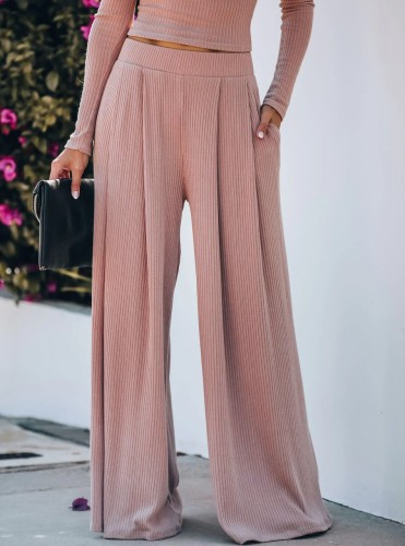 Yoga Wide Leg Pants with Pockets