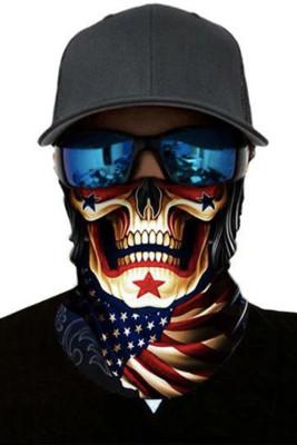 Skull Flag Dust Sun UV protection Face Mask