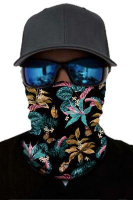 Bloosom Print Face Mask and Neck Warmer with Dust and Sun UV Protection
