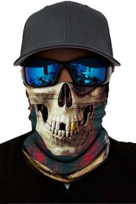 Pirate Skull Dust Sun UV protection Face Mask