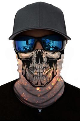 Skull Dust Sun UV protection Face Mask