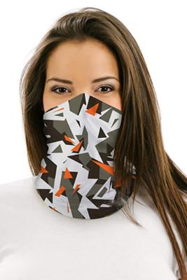 Shatter Camo Multifunctional Headwear Face Mask Headband Neck Gaiter