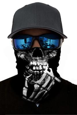 Skull Skeleton Dust Sun UV protection Face Mask