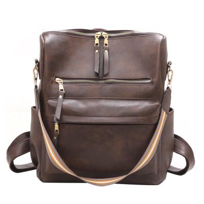 Brown Large Capacity Shoulder Bags Handbag