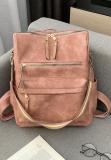 Dusty Pink Large Capacity Shoulder Bags Handbag
