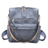 Dusty Blue Large Capacity Shoulder Bags Handbag
