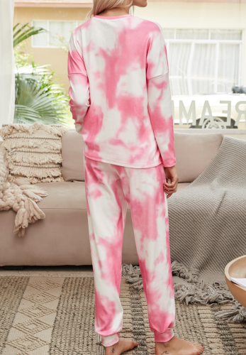 Tie Dye Loungewear Pants Set XC766