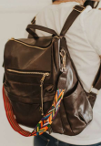 Coffee Large Capacity Backpack