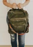 Olive Large Capacity Backpack