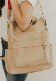 Cream Large Capacity Backpack