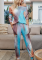 Tie Dye Ombre Colorblock Lounge Set