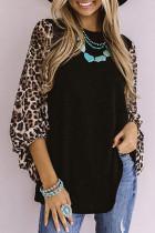 Sweet Spot Leopard Shift Top