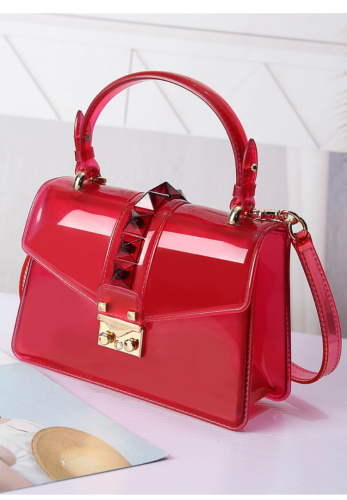 Solid Jelly Bag Handbag