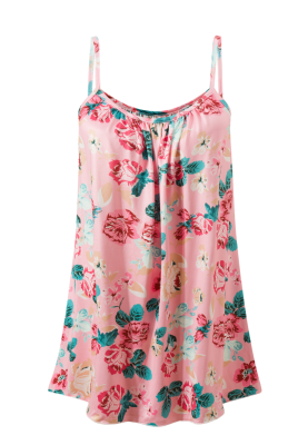 Floral Ruffled Plus Size Dresses