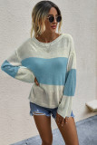 Blue Pullover Sweaters