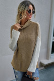 Apricot Pullover Sweater