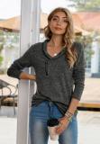 Zip it Up V Neck Pullover Sweatshirts