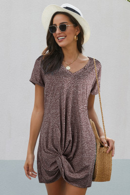 The Triblend Side Knot Dress
