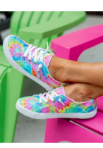 Tie Dye Canvas Shoes