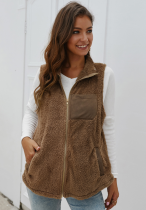 Turn-down Collar Jacket with Pocket