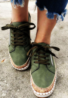 Solid Women Sneakers