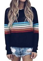 Striped Sweater Pullover