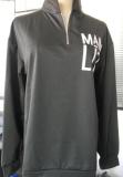 Mama Life Zip it Up Graphee Sweatshirt