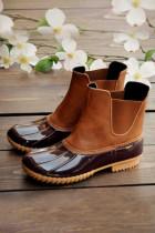 Solid Waterproof Boots