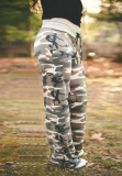 Camouflage Loose Long Pants