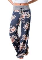Floral Loose Long Pants