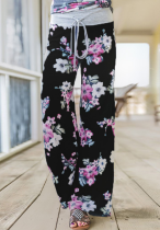 Floral Loose Long Pants