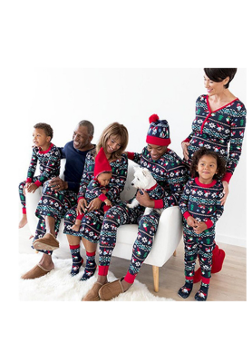 Christmas Loungewear Pajamas Set For Mommy