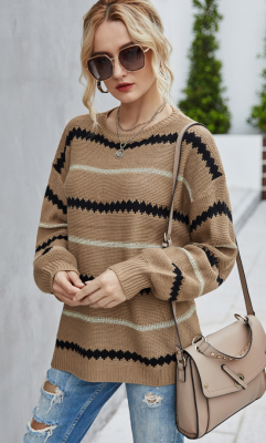 Striped Loose Sweaters