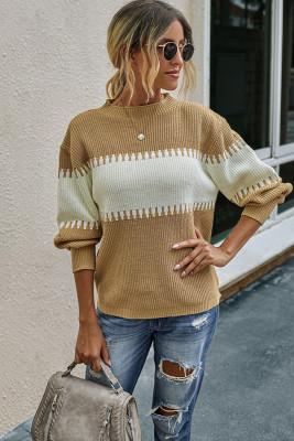 Stylish Loose Knit Sweater