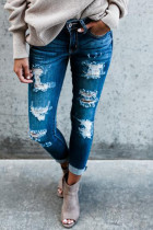 Ripped Trousers Jeans
