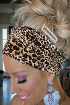 Boho Velvet Leopard Headband