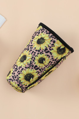 All Sunflower Print Cup Cover