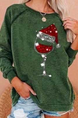 Christmas Cheer Sweatshirts Plus Size Pullover