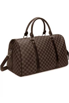 Multi Color Large Capacity Plaid Weekender Bag