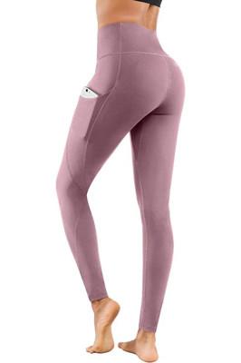 Pink Yoga Pants Sport Leggings