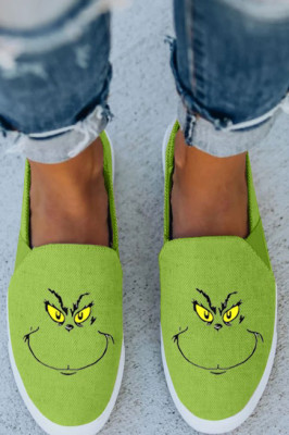 Green Grinch Sneakers