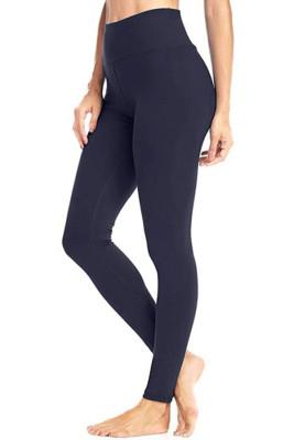 Navy Hip Bottoming Yoga Pants