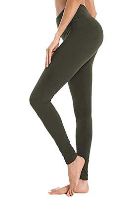 Army Green Hip Bottoming Yoga Pants
