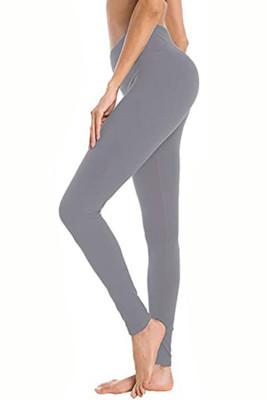 Light Grey Hip Bottoming Yoga Pants
